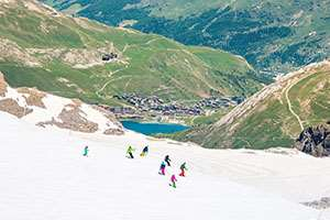 Summer skiing in Tignes is coming