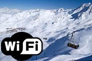 Val Thorens' Slopeside Wi-Fi