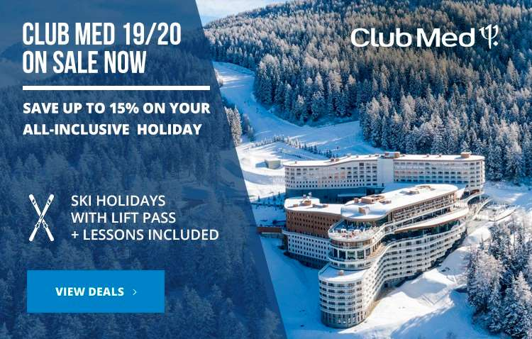 Club Med 2019/20 on sale now