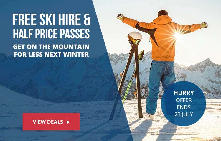 Free Ski Hire Flash Sale