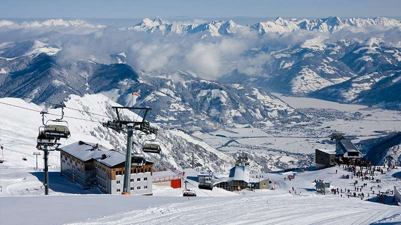 Large ski resorts in Austria