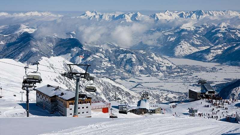 kaprun ski resort