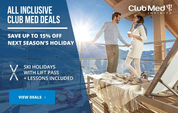 Club Med early booking offers