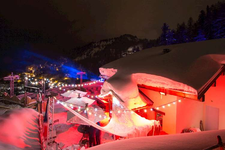New bar in La Plagne