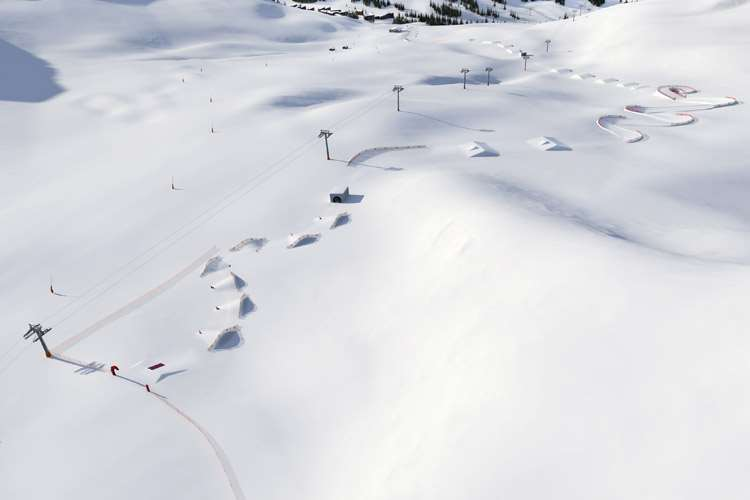 New fun slope in La Plagne