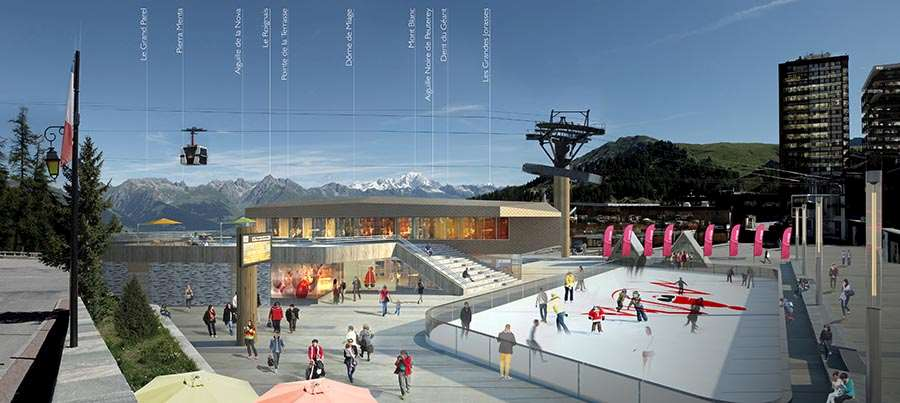 La Plagne Centre New Look
