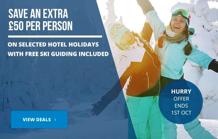Save an extra £50 pp