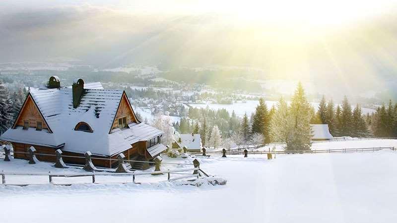 Chalets de ski