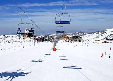 Ski holidays in spain