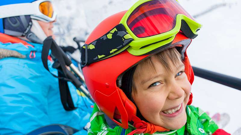 Skiing with children guide