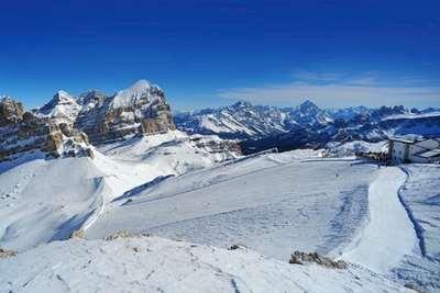Dolomites snow report