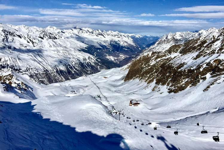 Obergurgl snow report