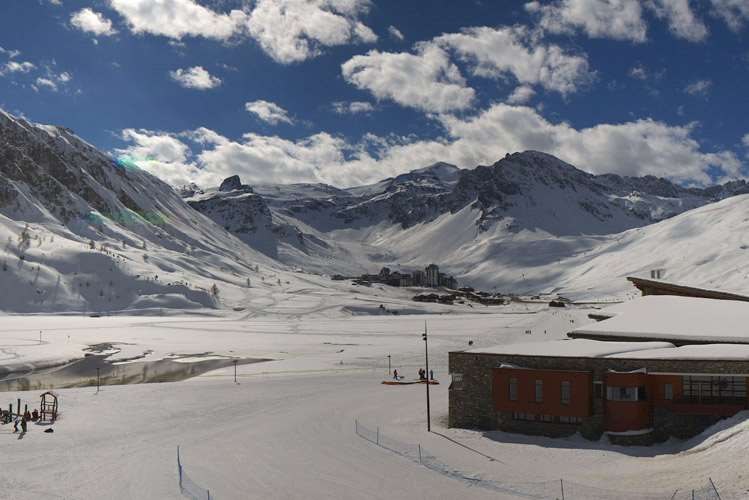 Tignes webcam