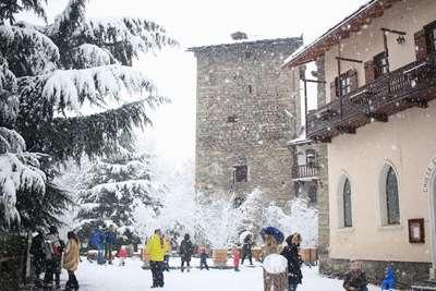 Courmayeur Snow Report