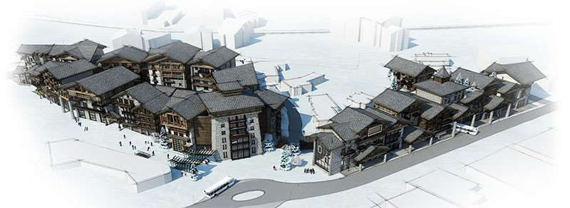 Val d'Isere Le Coin Redevelopment project
