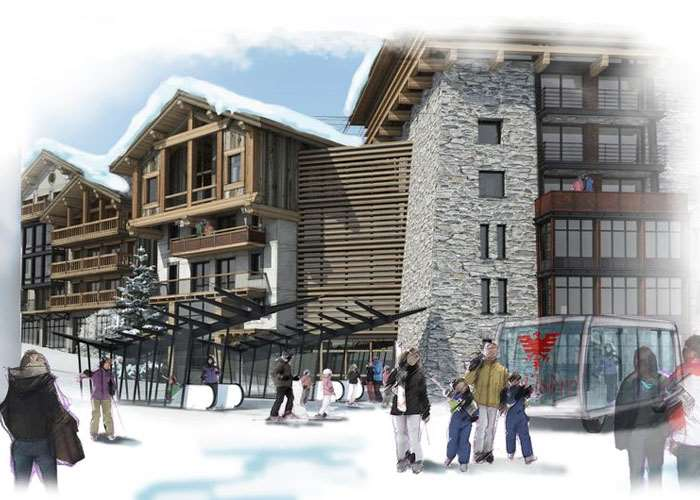 Val d'Isere Le Coin project