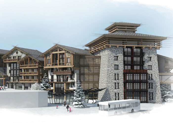 Val d'Isere Le Coin development