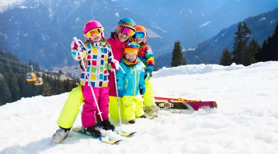 What age can kids ski